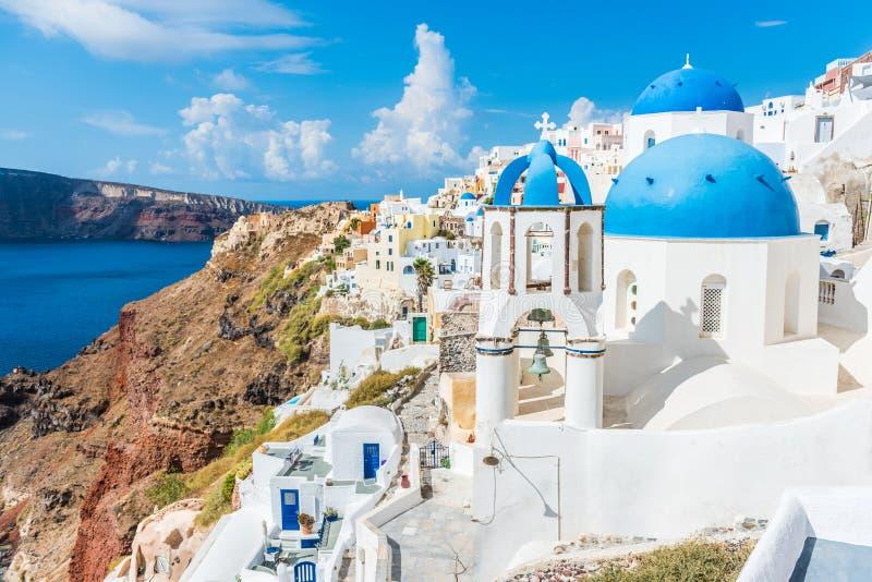 Europa Grecja podróży sławny miejsce przeznaczenia Santorini zdjęcia royalty free