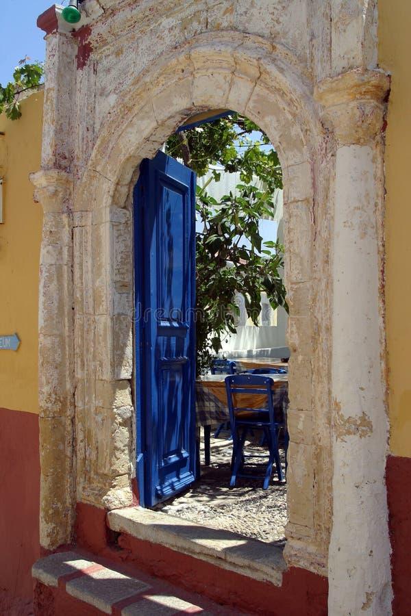Europa, Grecja, Symi wyspa obrazy royalty free