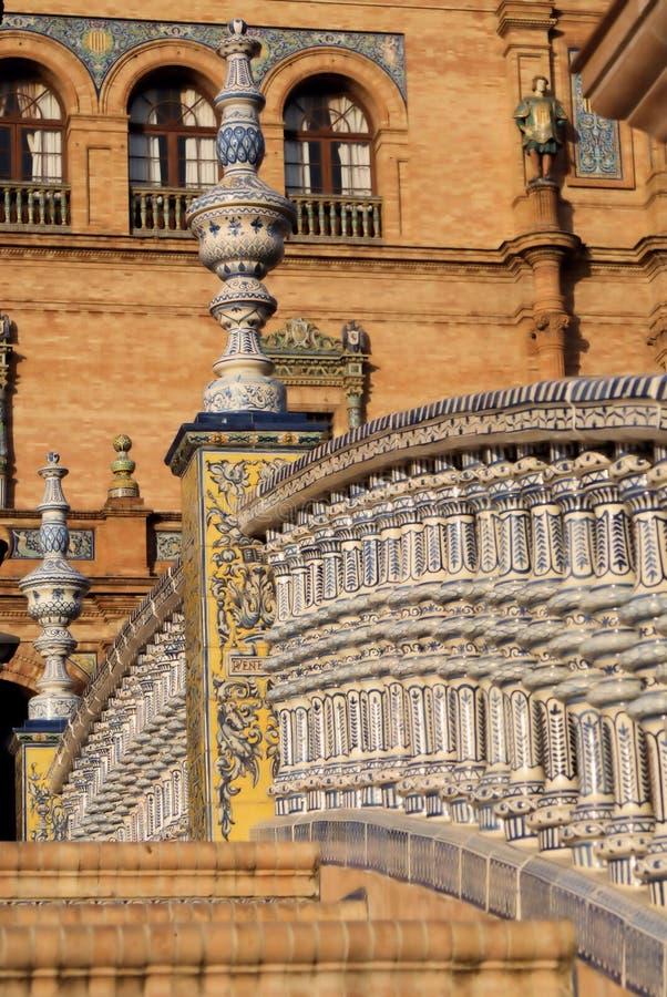 Europa, Hiszpania, Sevilla - obraz royalty free