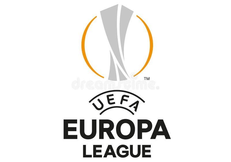 Europa liga logo ilustracja wektor