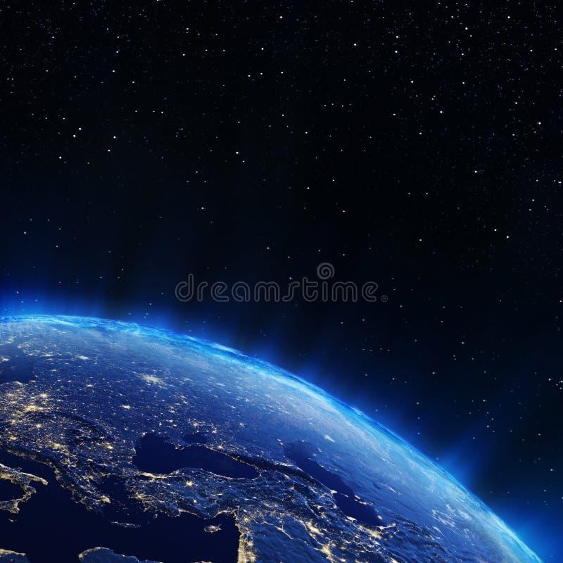Europa miasta światła ilustracji