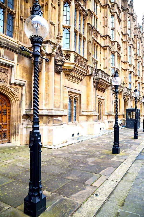 Europa nella parete di Londra e dell'estratto fotografie stock