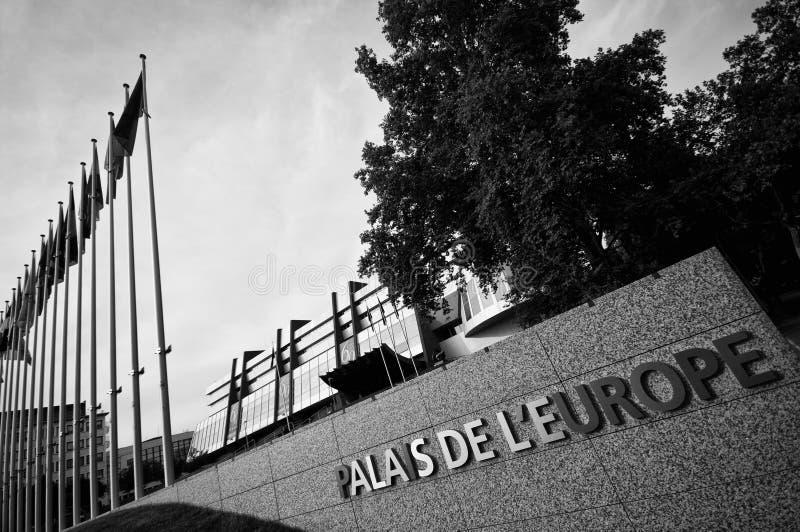 Europa-Palast In Straßburg Lizenzfreie Stockfotografie