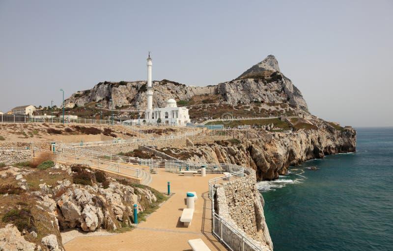 Europa-Punkt in Gibraltar stockbilder