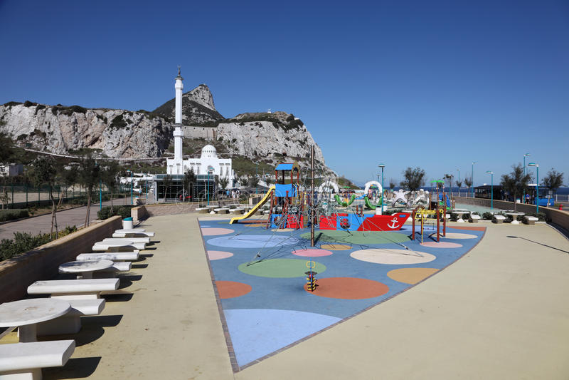 Europa-Punkt, Gibraltar lizenzfreie stockfotografie