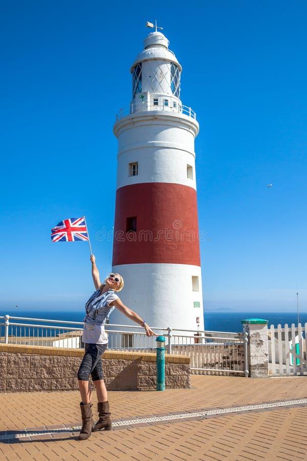 Europa punkt Gibraltar fotografia stock