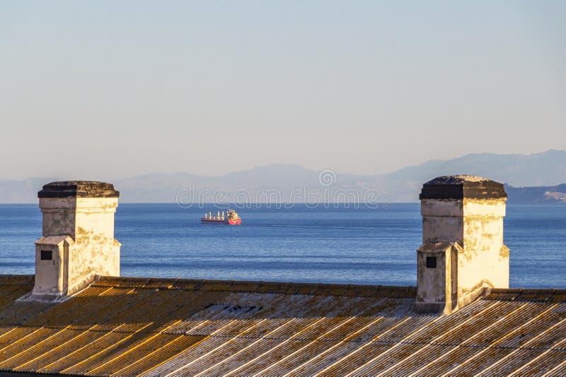 Europa-Punkt, Gibraltar stockbilder