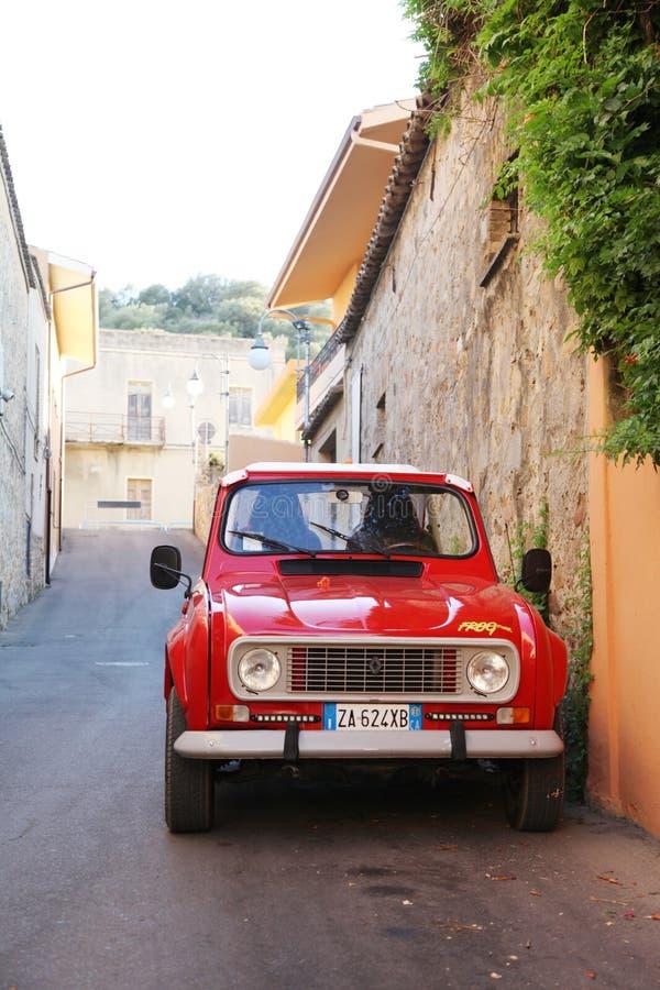 Europa-Reise: Italien, Sardinien lizenzfreies stockfoto