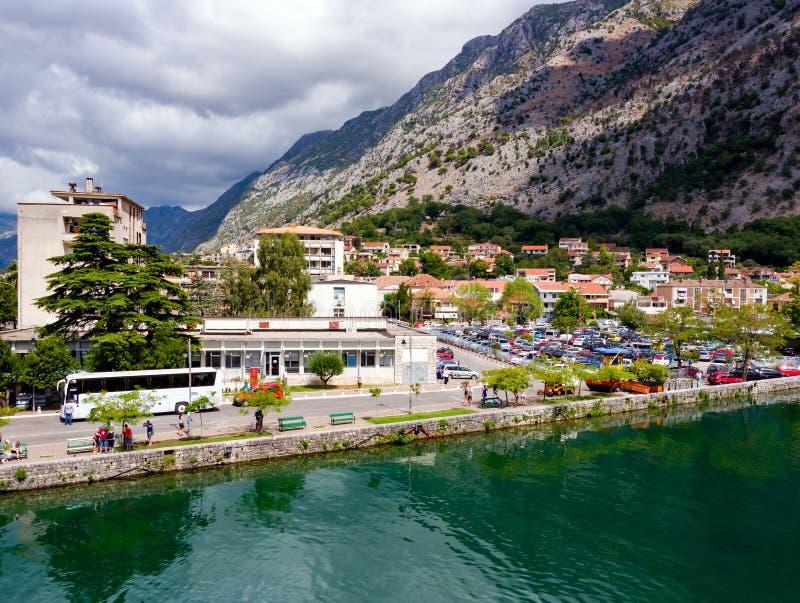 Europa vieja Sity Kotor imagen de archivo libre de regalías