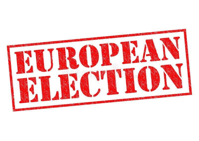 EUROPAWAHL lizenzfreie stockfotografie