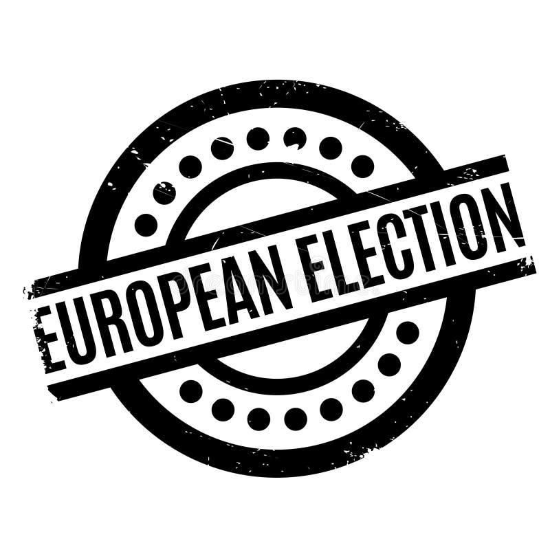 Europawahlstempel lizenzfreie stockbilder