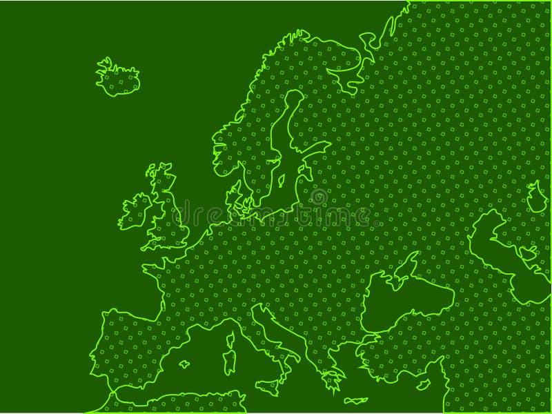 Download Europe stock illustration. Illustration of geography, european - 14636