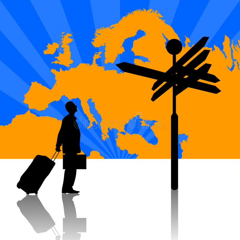 Europe Business Travel Stock Photography