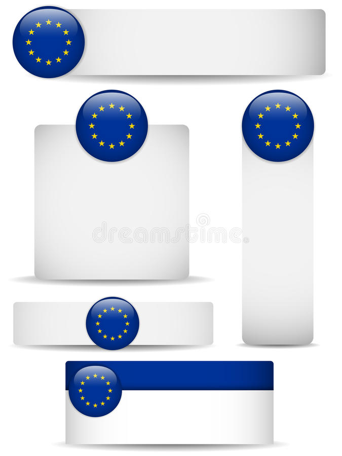 Download Europe Country Set Of Banners Stock Vector - Illustration: 24862646