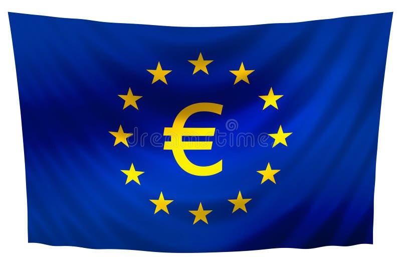 europe flaga ilustracja wektor