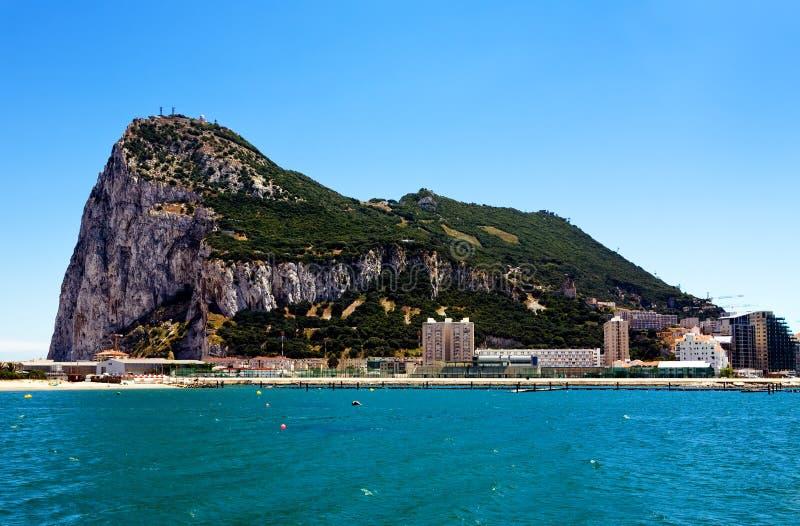 europe Gibraltar punktów najwięcej południe zdjęcia royalty free