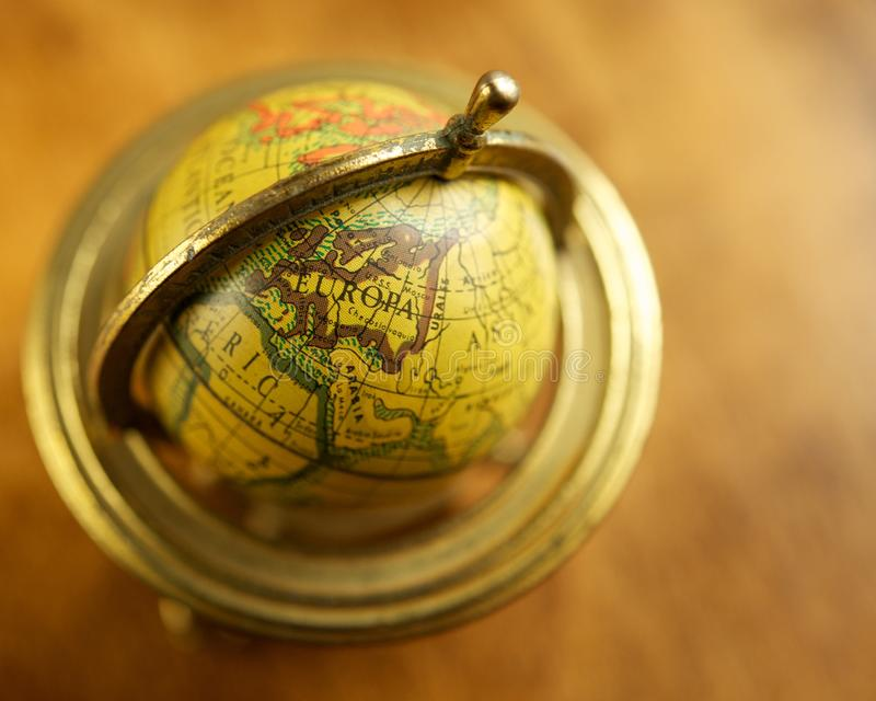 Download Europe On A Globe Stock Photos - Image: 27205463