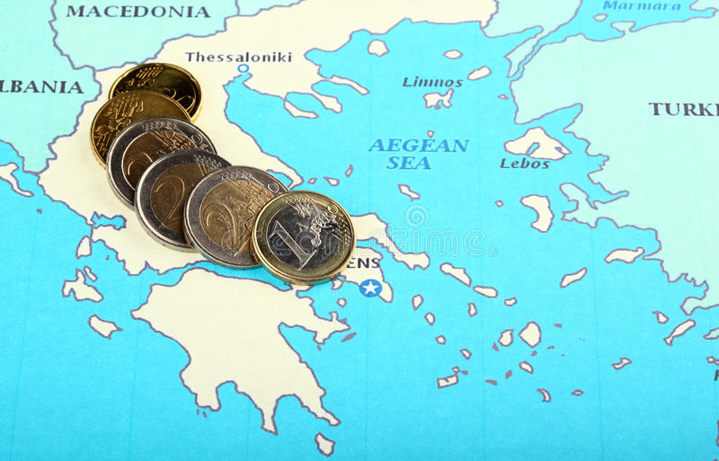 Download Europe helps Greece stock image. Image of greece, economics - 21865835