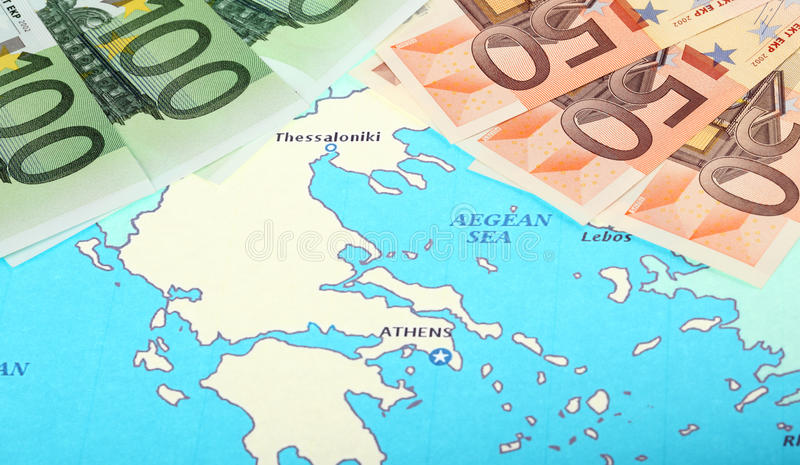 Download Europe Helps Greece Stock Image - Image: 21865871