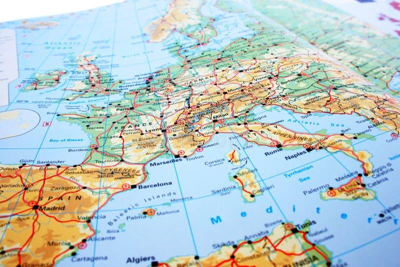 Download Europe map stock illustration. Illustration of international - 18358491