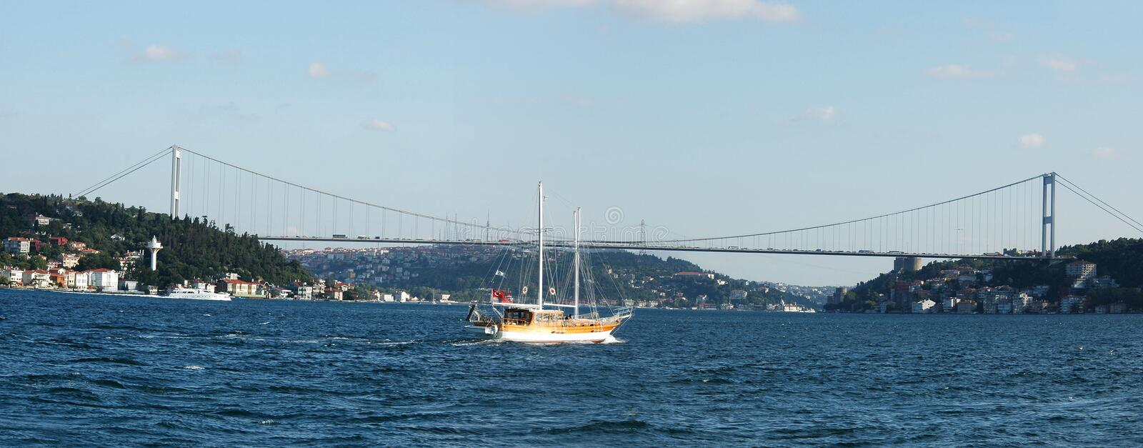 Download Europe Meets Asia - Istanbul Stock Image - Image: 2133473