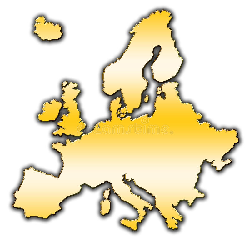 Download Europe Outline Map Royalty Free Stock Photography - Image: 27382567