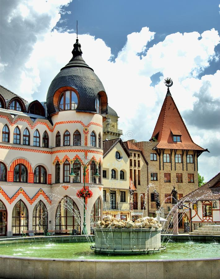 Download Europe square stock image. Image of komarom, classical - 19813885