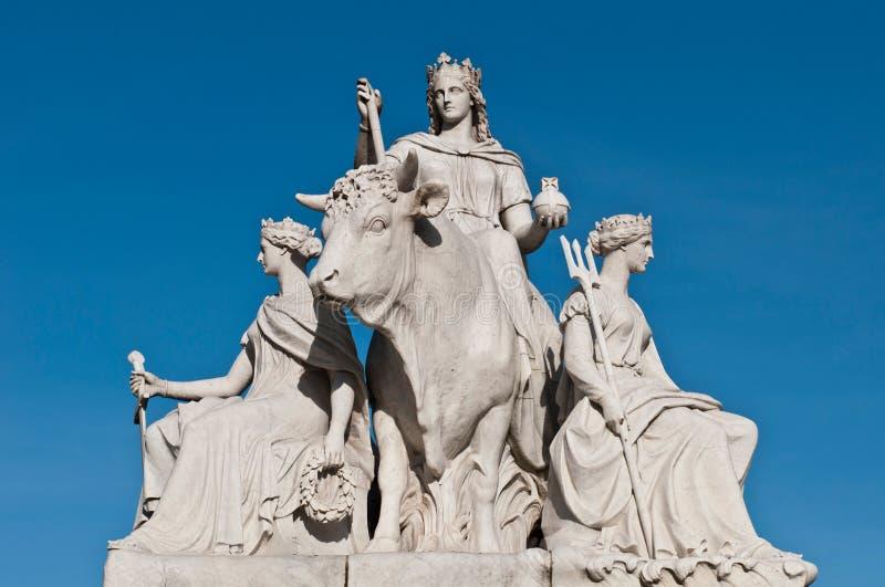 Download Europe Statue In Albert Memorial Stock Photo - Image: 31369036