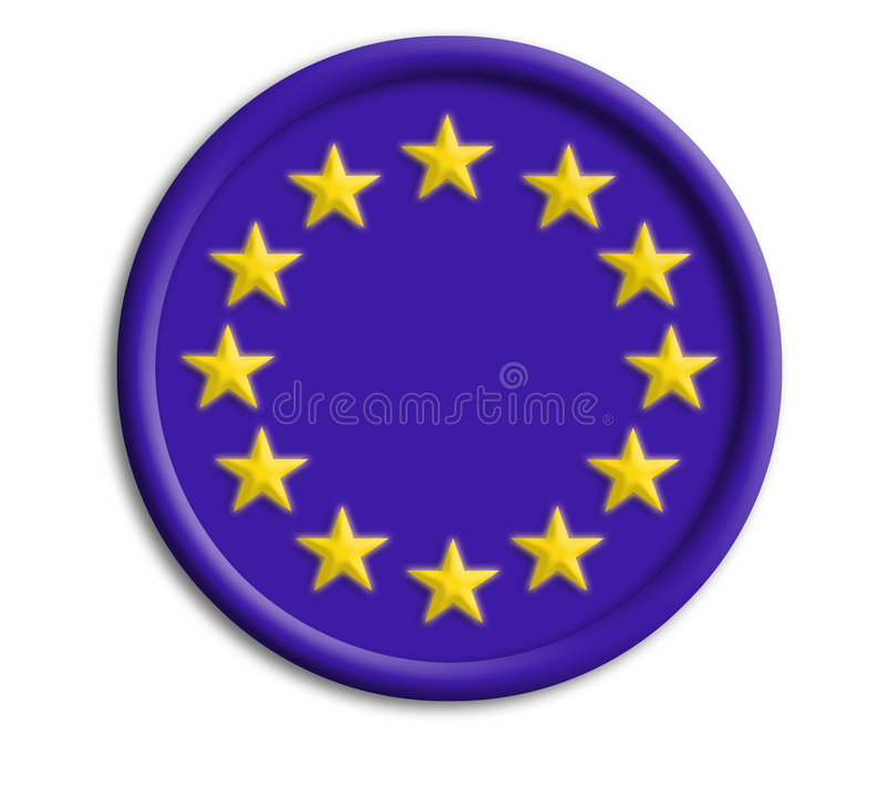 Download Europe Union Shield For Olympics Stock Illustration - Image: 5691772