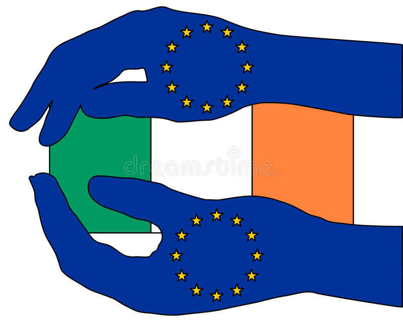 Download European aid for Ireland stock vector. Image of protection - 18368598