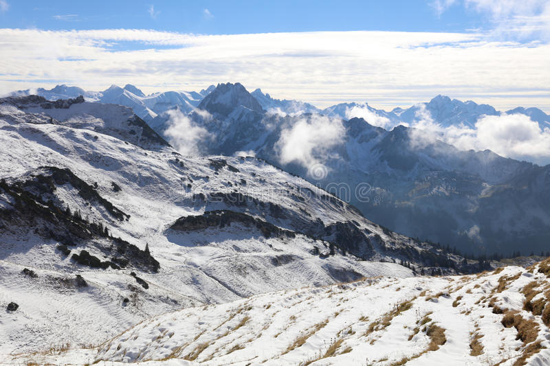 European Alps royalty free stock images