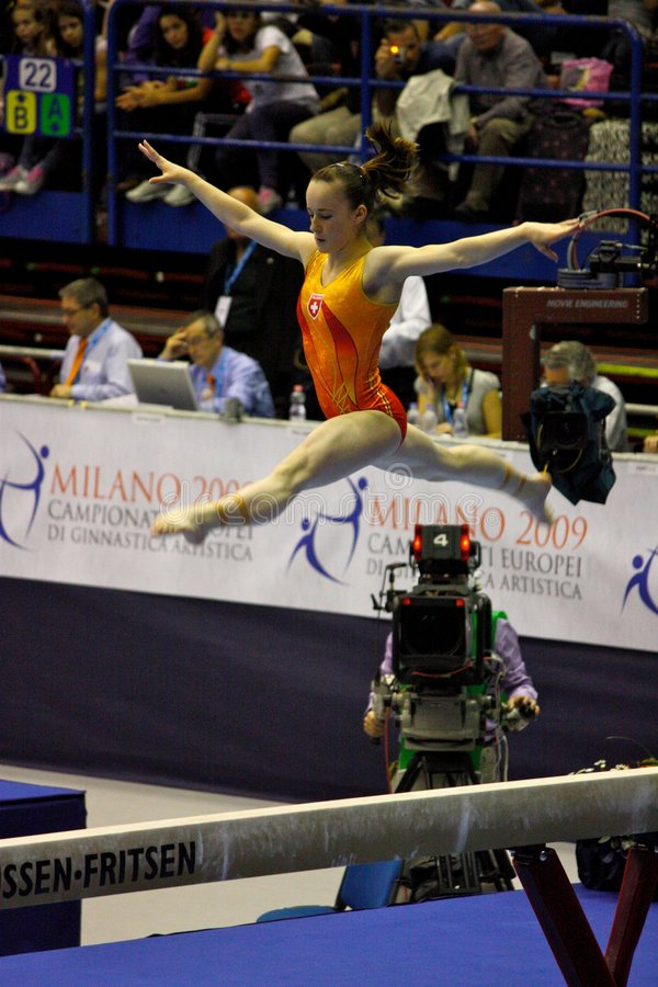 Download European Artistic Gymnastic Championships 2009 Editorial Photography - Image: 8851252