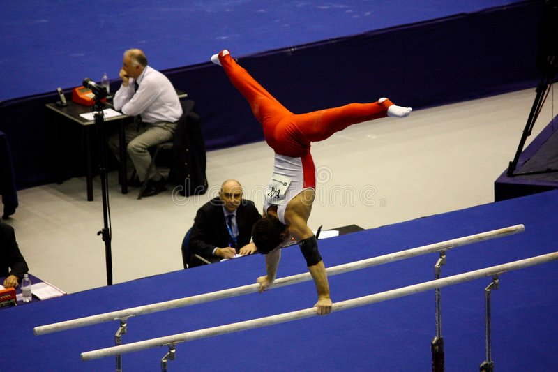 European Artistic Gymnastic Championships 2009 stock image