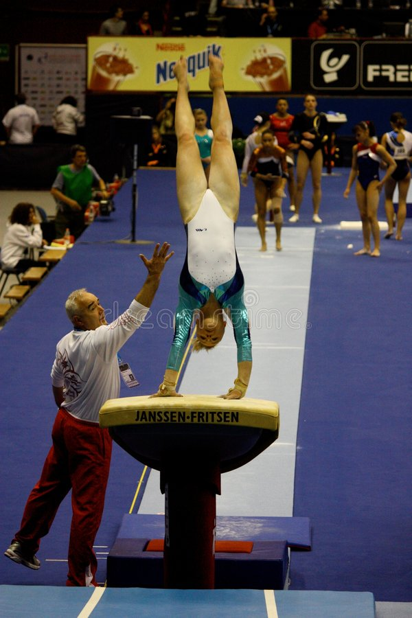 Download European Artistic Gymnastic Championships 2009 Editorial Stock Image - Image of exercise, championships: 8860559
