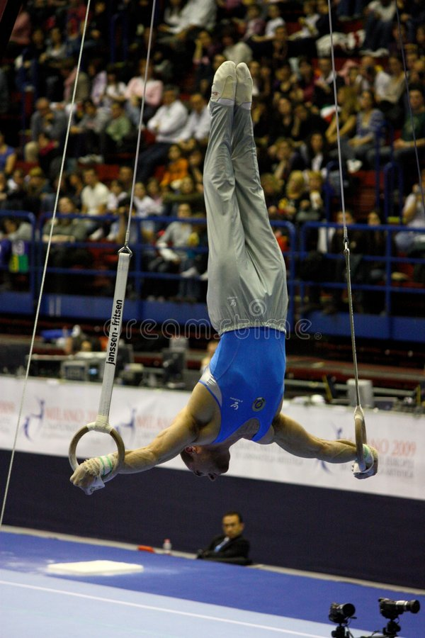 Free European Artistic Gymnastic Championships 2009 Stock Images - 8860604
