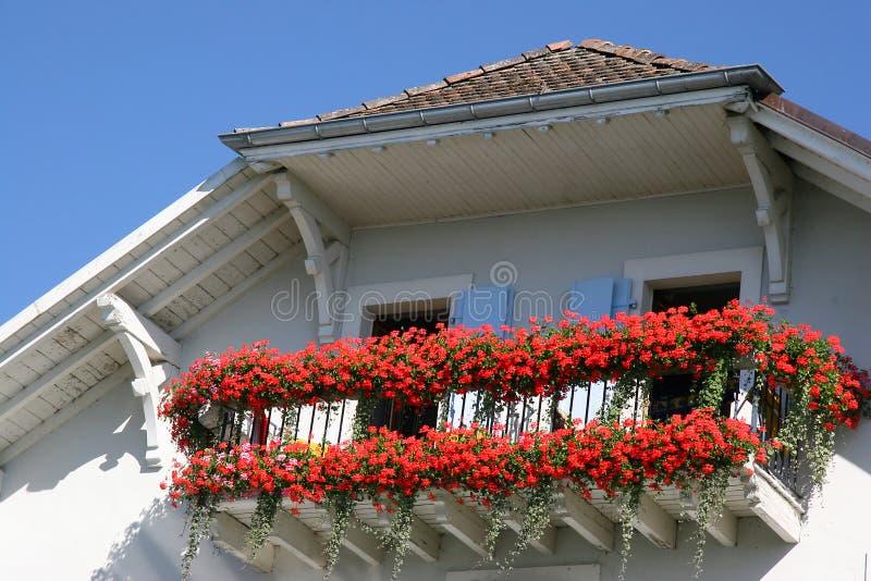 European balcony stock images