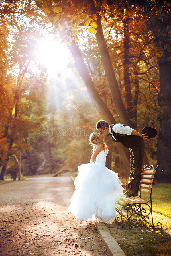 Free European Bride And Groom Stock Images - 29804524
