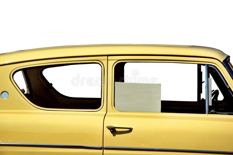 European car for sale royalty free stock photo