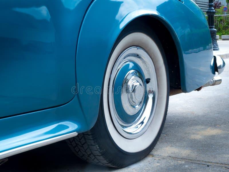 European classic car stock photo