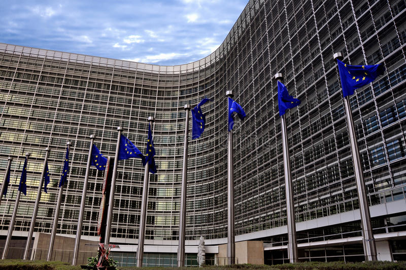 European commission royalty free stock images