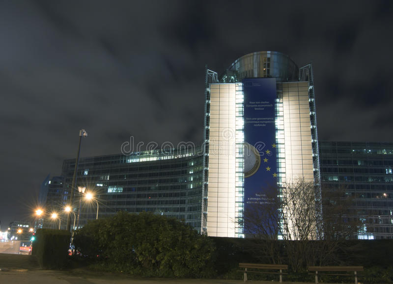 Download European Commission Headquarters In Brussels, Belg Stock Photo - Image: 23250338