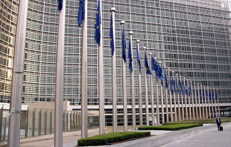European Commission official 2 royalty free stock image