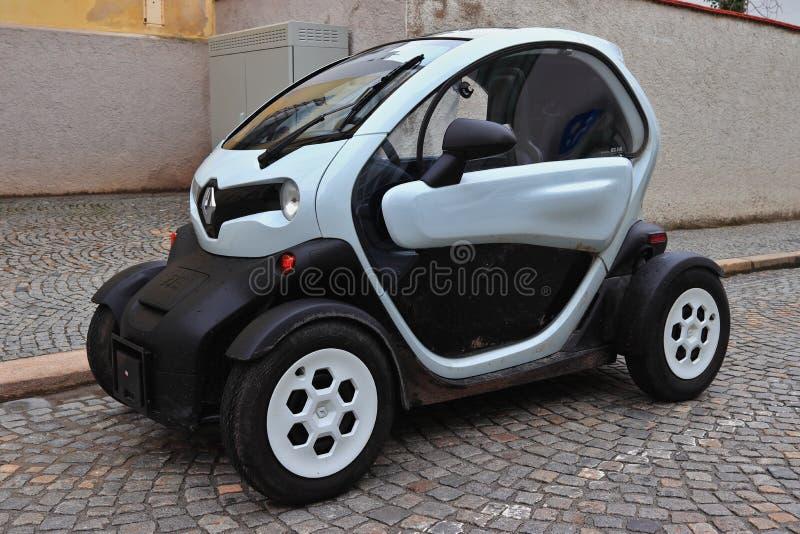 PASSAU, BAVARIA, GERMANY - MARCH 12, 2019: Renault Twizy electric car. stock photos