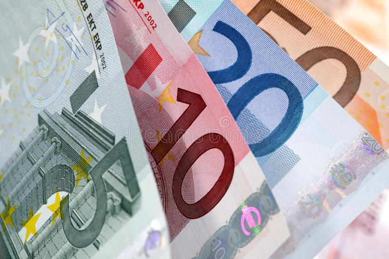 Download European currency stock photo. Image of five, counting - 23363482