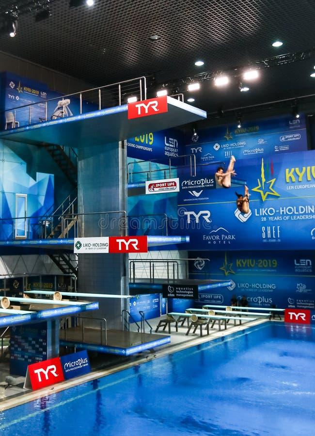 Synchronized Swimming Ukraine Stock Images