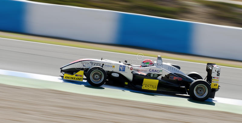 European F3 Open. Pilot N. Schiro stock photo