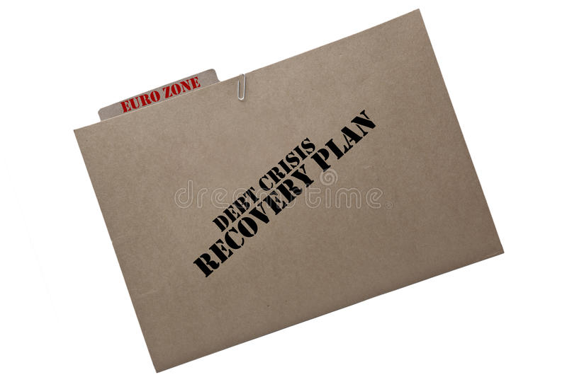 European Financial Recovery Plan Stock Photo