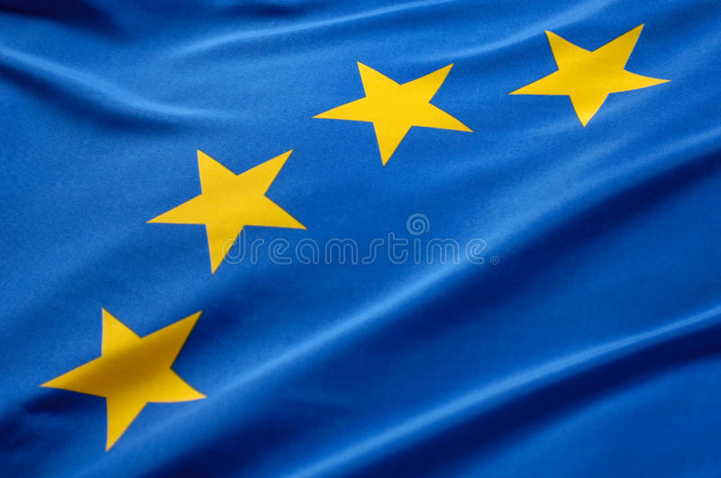 Download European flag stock image. Image of bunting, blue, cross - 25705509