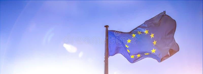 european flag stock photography