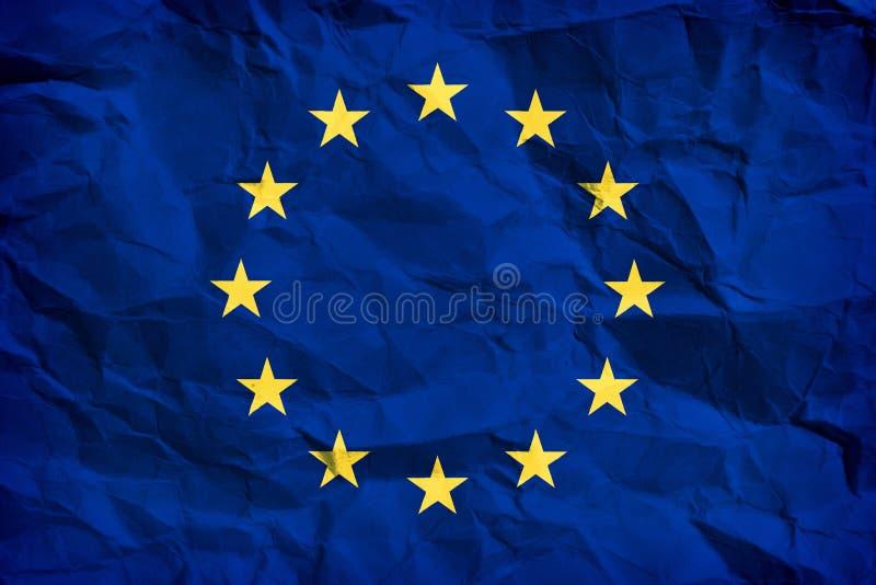European flag royalty free illustration